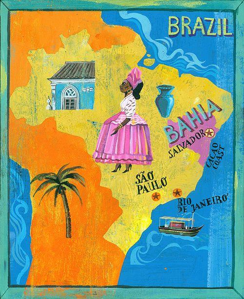 Image result for illustration brasil