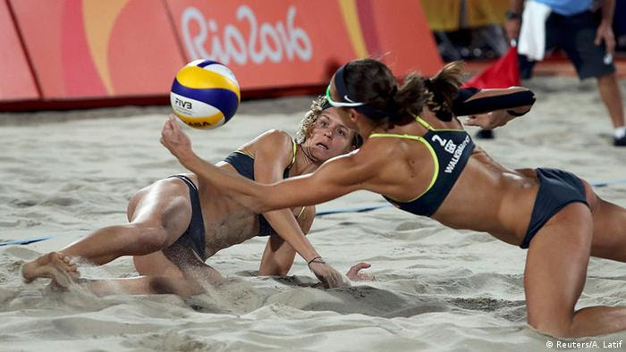 Rio 2016 Olympia Finale Beach Volleyball