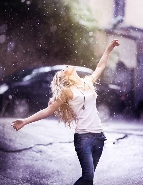 beauty, dance, woman, fashion, girl, photography, rain, urban, adoro