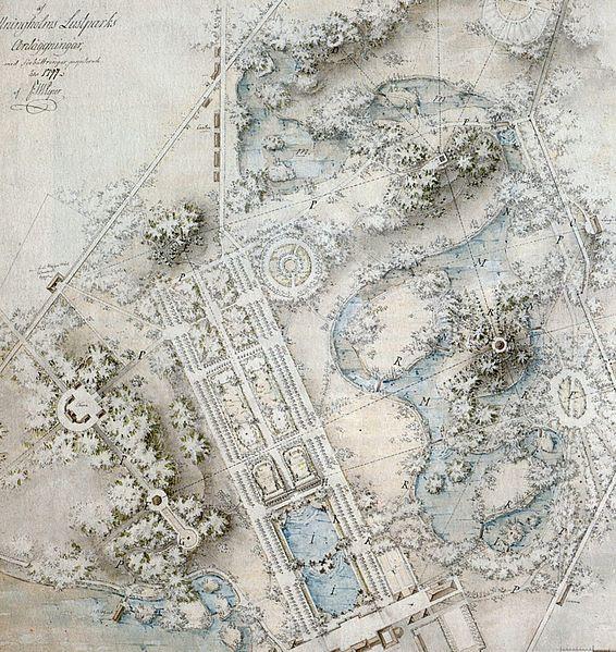 Fil: Drottningholms park generalplan Piper 1797.jpg