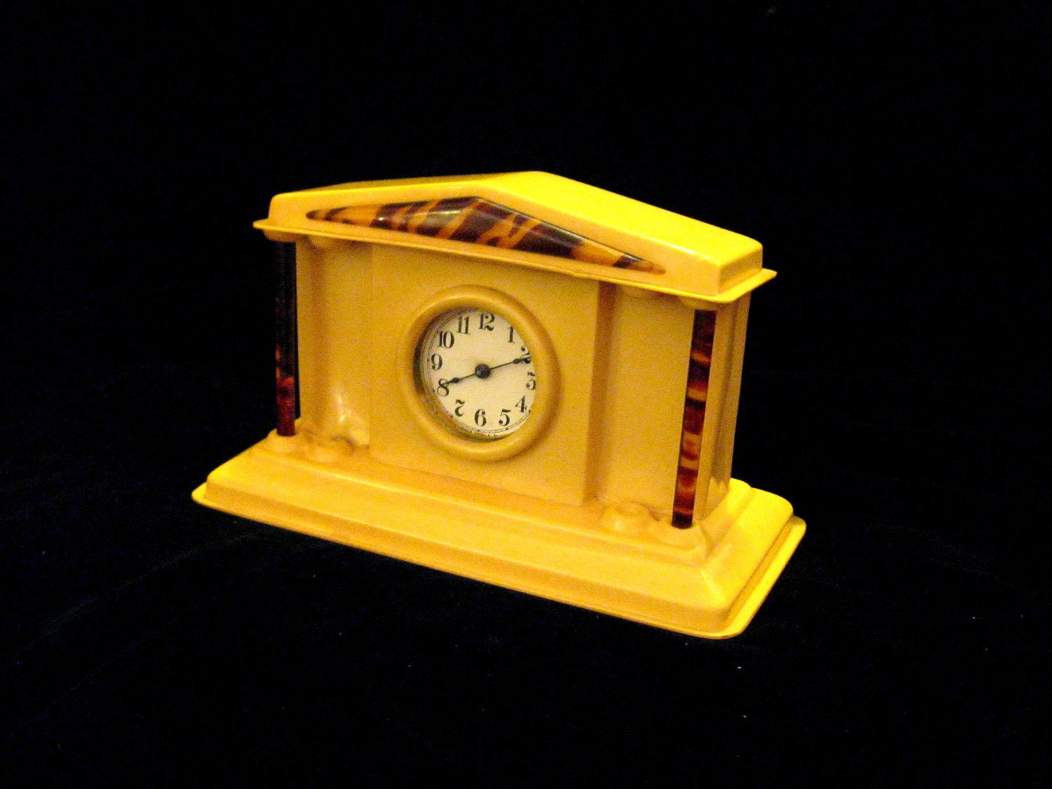 plastic clock on etsy wierclock.etsy.com