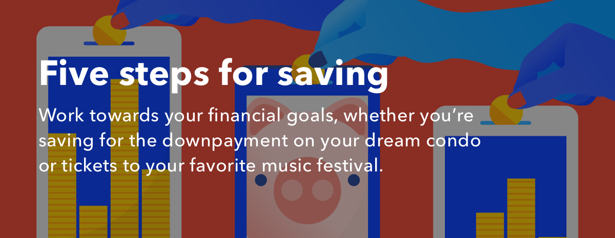 Five steps for saving with IFTTT