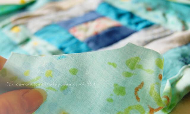Tutorial: quilt self binding step 7