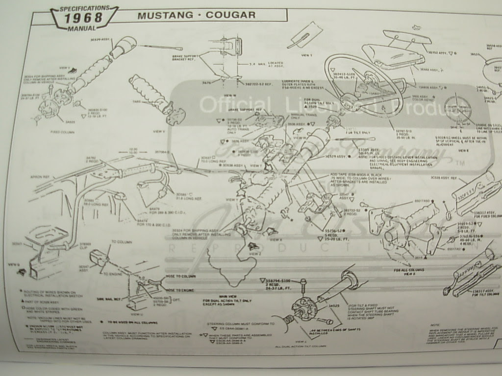 68 Xr7 Underdash Wiring Mercury Cougar Owners