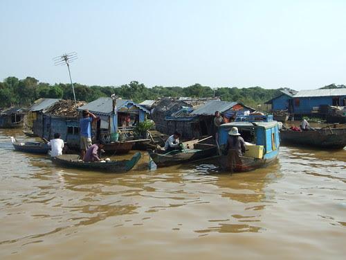 Life in Tonle Sap Lake V