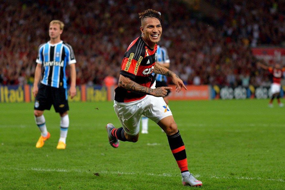 Guerrero fez sua estreia no Maracanã com a camisa do Fla - Marcello Dias/Futura Press/Folhapress