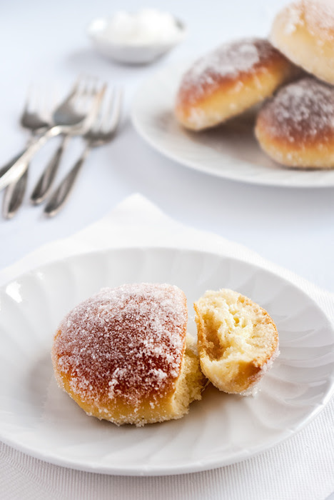 Lime and Ricotta Baked Doughnuts