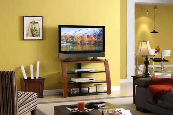 Higboy TV Console (APA TV Consoles Collection) in Living Room at
