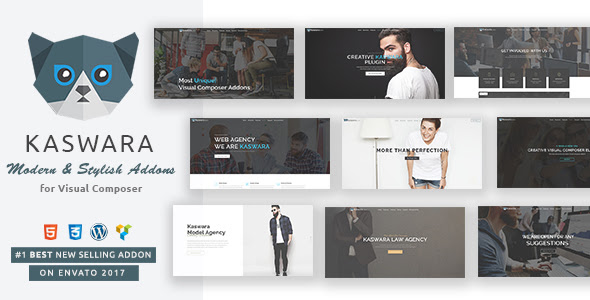 Download CodeCanyon - Kaswara v2.3.3 - Modern Visual Composer Addons - WordPress Plugins