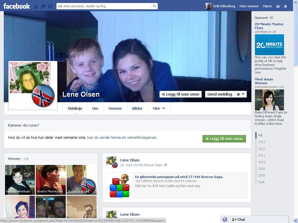 ungene til lene facebook