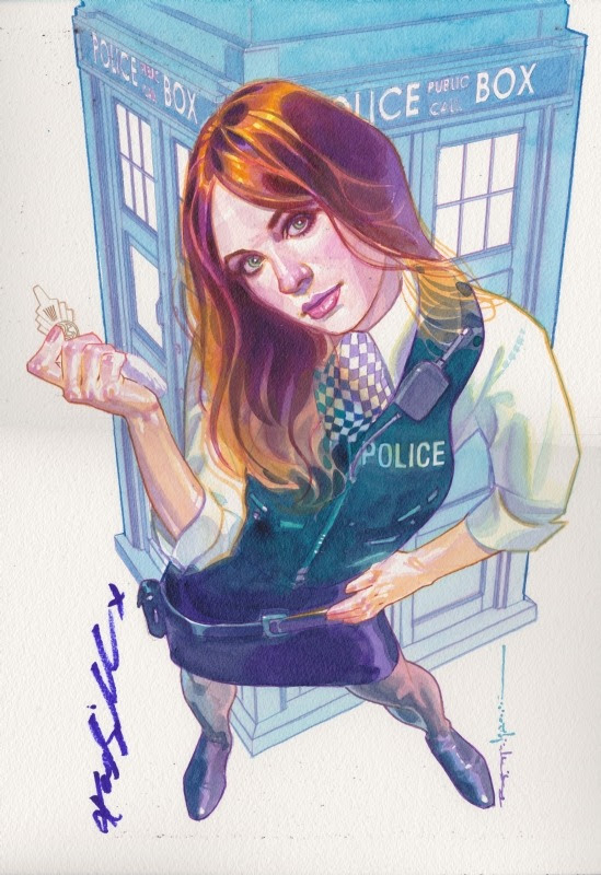 Doctor Who - Amy Pond by Brian Stelfreeze