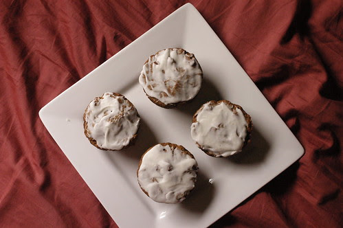 ginger-molasses cupcakes