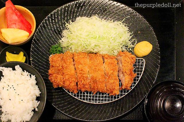 Menchi Katsu Set P350