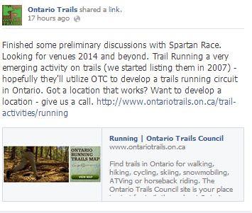 spartan race ontario trails