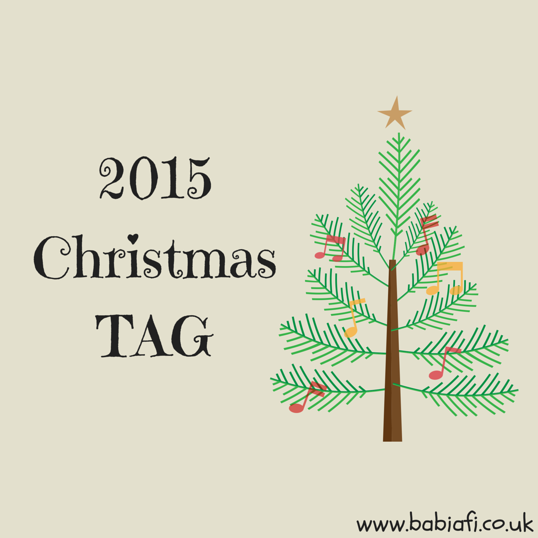 2015 Christmas Blogging Tag