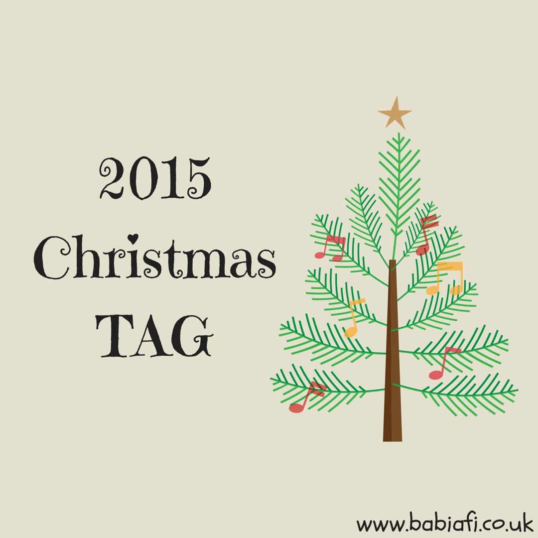 2015 Christmas Blogging Tag