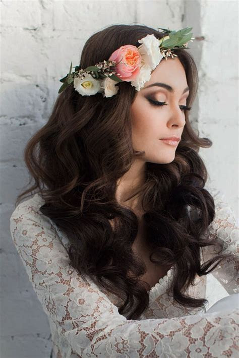 25  best ideas about Brunette wedding hairstyles on