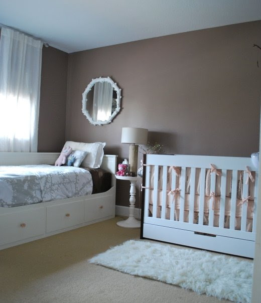 Real Rooms: Tranquil and Serene Nursery