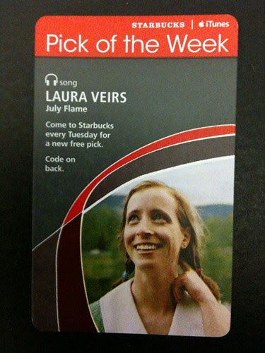 Starbucks iTunes Pick of the Week - Laura Veirs - July Flame #fb