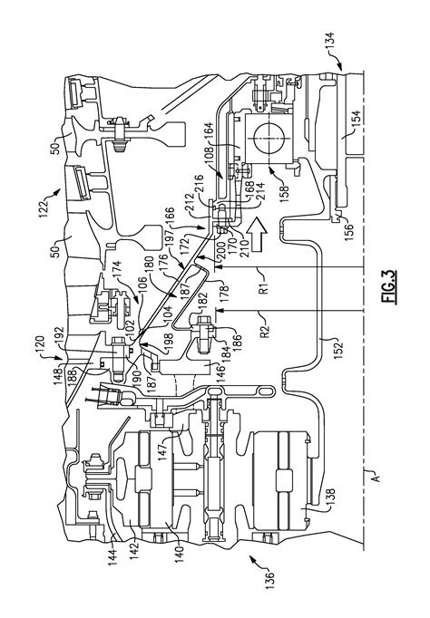 Patent US8845277 - Geared turbofan engine with integral