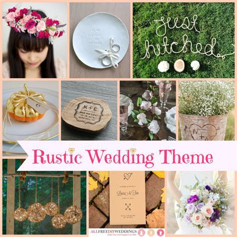 Wedding Themes: Rustic Wedding   AllFreeDIYWeddings.com
