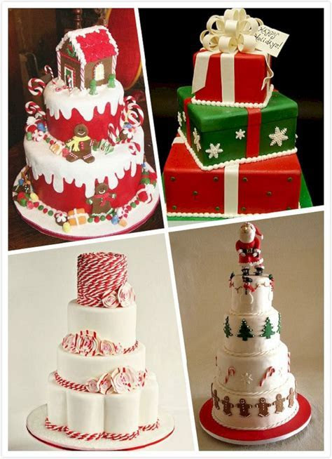 Christmas themed Wedding Cake ? OOSILE