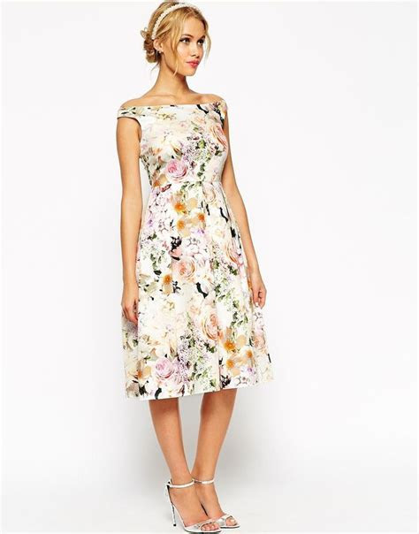 ASOS WEDDING Midi Floral Prom Dress. Would have to be a