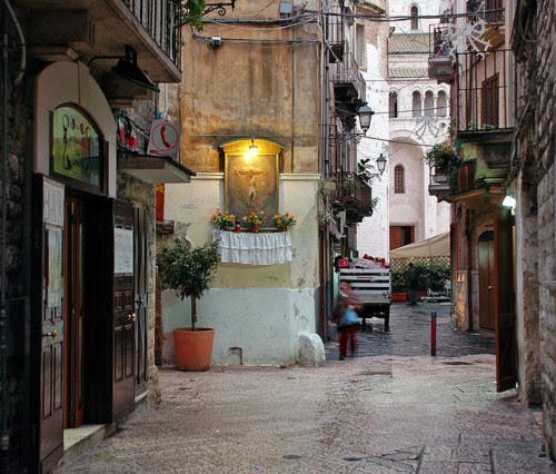 Ancient Street, Puglia, Italy