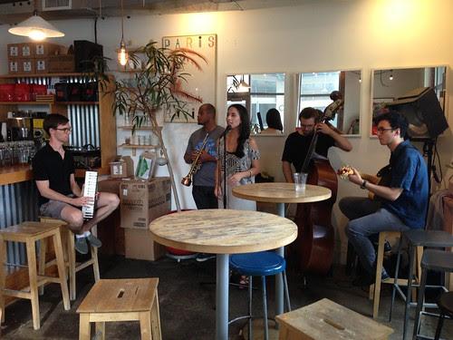 Jazz Band @ Warehouse Cafe, Jersey City