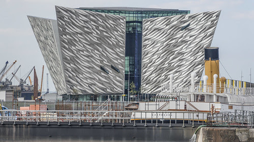 Titanic Belfast: Visitor Attraction And Monument To Belfast's Maritime Heritage by infomatique