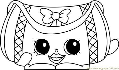 Duffa Shopkins Coloring Page   Free Shopkins Coloring