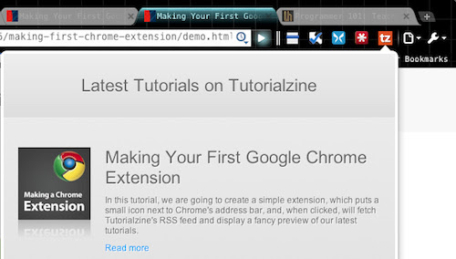 Learn to Make Your Own Chrome Extensions