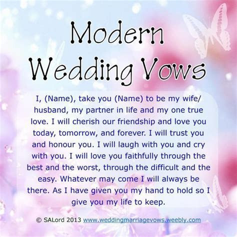 Funny Wedding Vows    10 year vow renewal in 2019