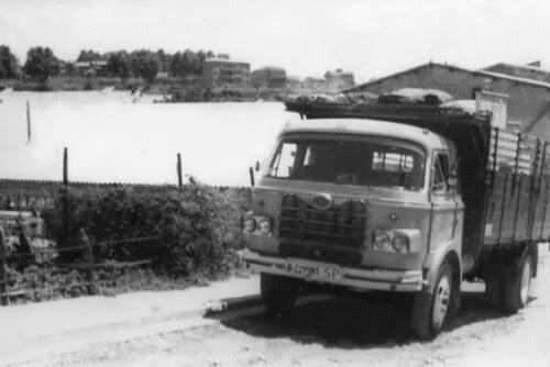Camió Nazar de l'empresa TRANSPORTS COTXARRERA de Gironella (Berguedà)