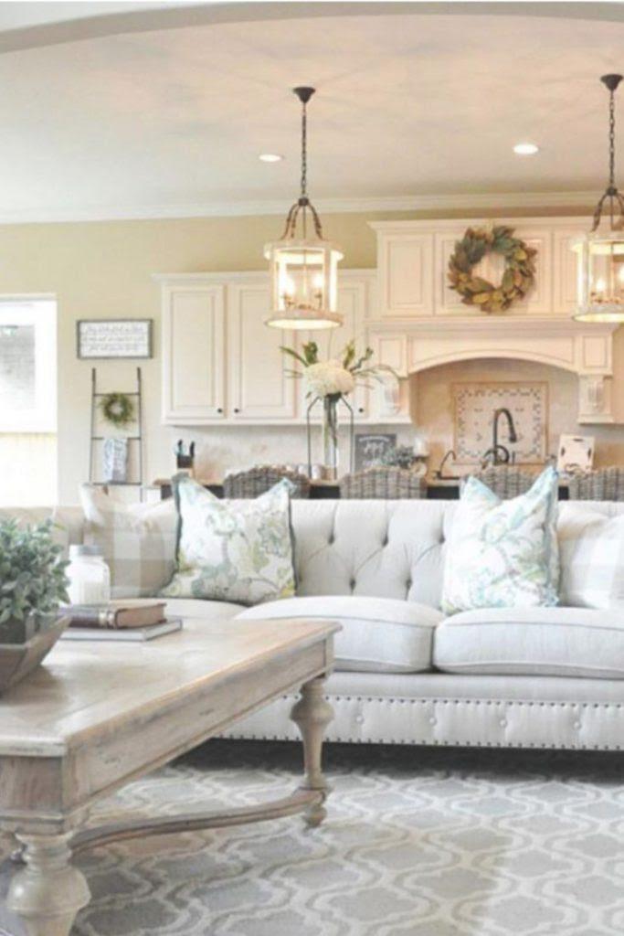Farmhouse Living Rooms • Modern Farmhouse Living Room ...
