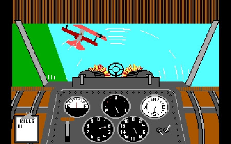 Flight Sims have come a long way from Cosmi's War Eagles