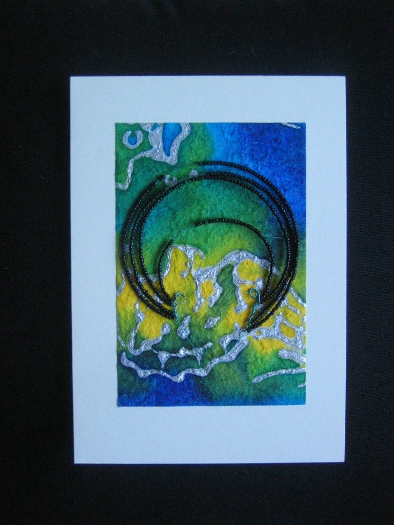 Afro Lady Design Set of 2 cards - Any Occassion - Random Selection
