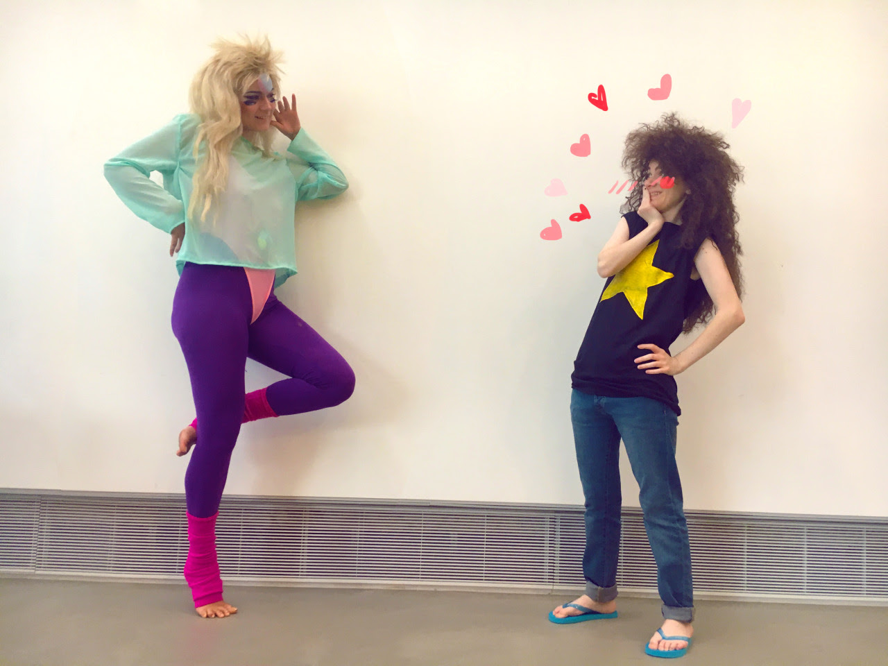 omfg @speedmagick came up to Boston and we did a rainbow quartz/young greg cosplay shoot based on this comic by @gem-science rainbow quartz is me young greg is @speedmagick photos by @eyes–like–stars