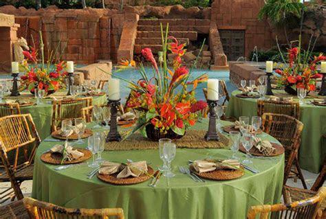 Ideas for the Tropical Themed Wedding   WeddingElation