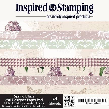 Spring Lilacs Paper Pad