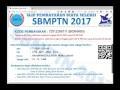 Tutorial Pendaftaran SBMPTN PIN KAP BidikMisi Berbayar 2018/2019
