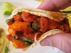 Camarones Taco