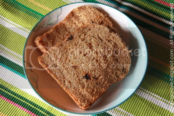 Wholegrain Raisins Toast3