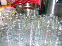 Jars all cleaned