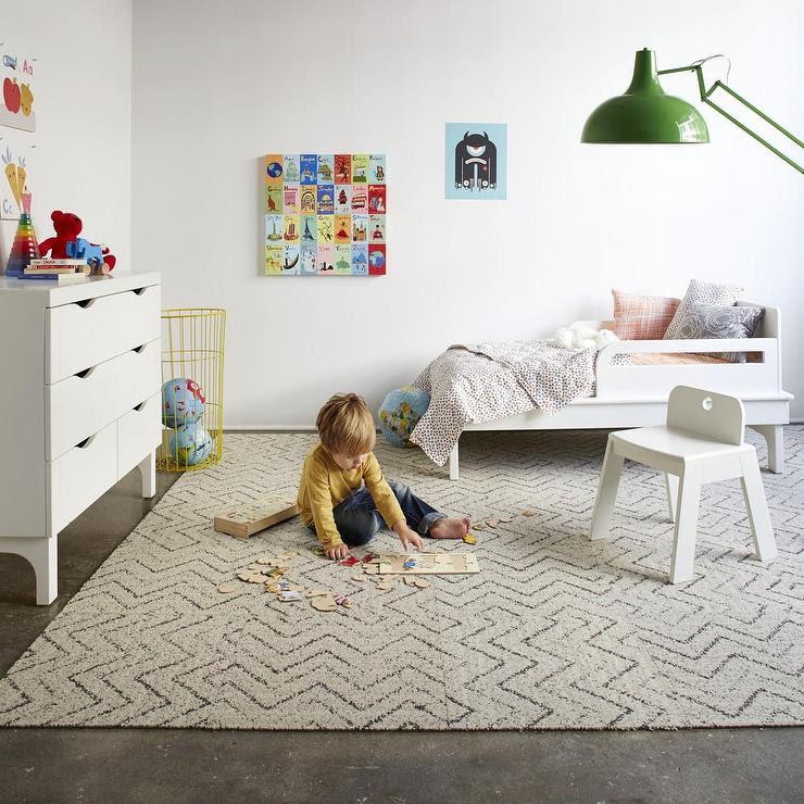 Jump Jive-Cream carpet tile I FLOR