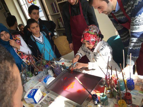 Ebru Sanatı Eğitim Bilişim Ağı