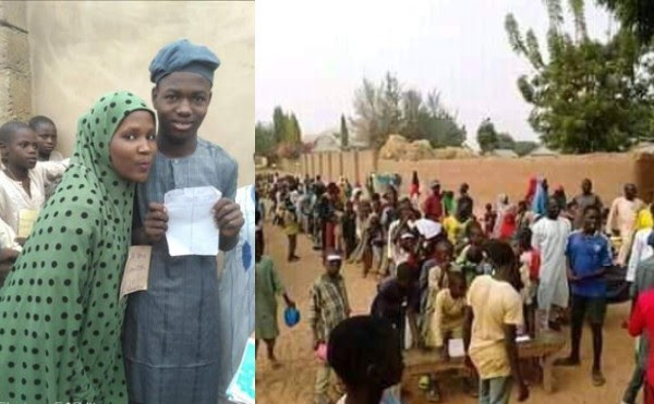 Two boys contest in an election over a girl they both fell in love with in Bauchi (photos