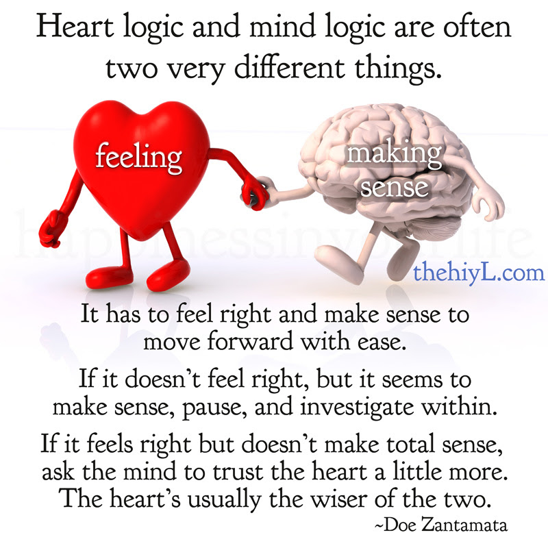 Quotes About Mind Over Heart 33 Quotes