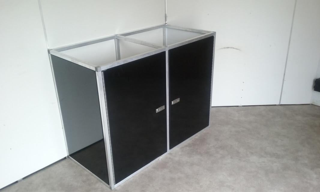 Side panel kit for base cabinets