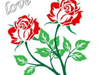 Rosas De Amor Para Dibujar Rosas De Amor